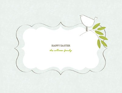 Easter6 Greeting Card (4x55)